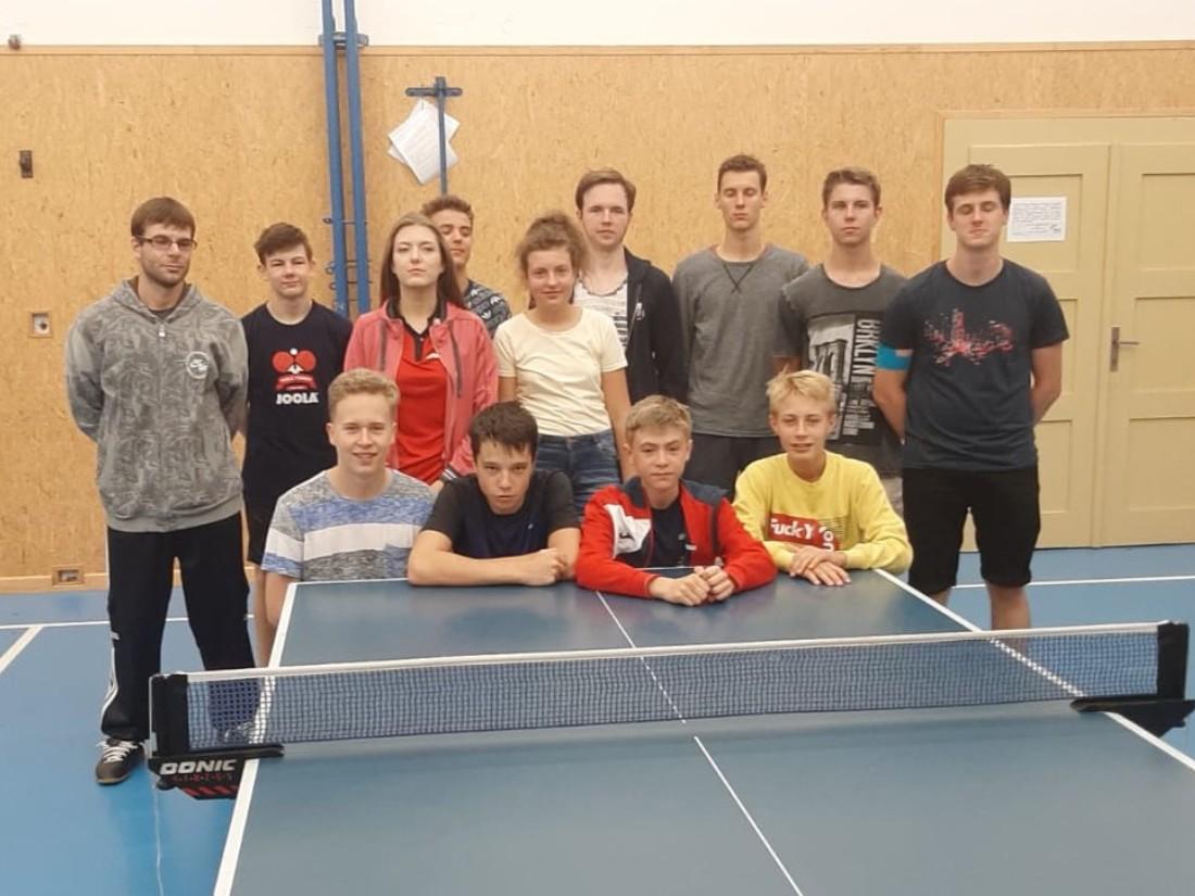 Letní příprava stolních tenistů Elektrostavu vrcholí